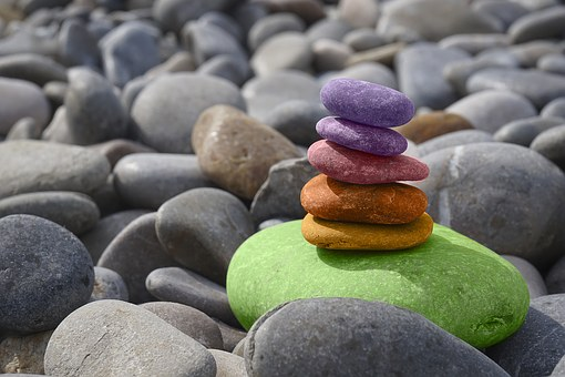 Balance, Pierres, Méditation, Zen